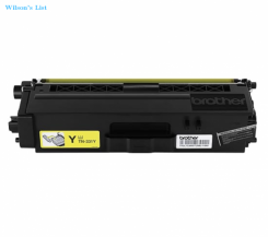 Brother Genuine TN331Y Yellow Original Laser Toner Cartridge