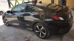 2016 Honda Civic Turbo Touring Coup Black