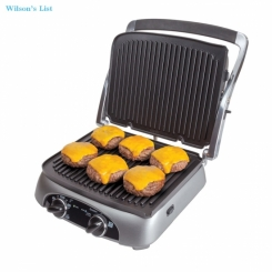 This FARBERWARE 4-in-1 Grill offers 4 different cooking options so you can make delicious sandwiches
