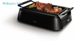 Philips HD6371/94 Avance 1660W Infrared Indoor Grill-Black