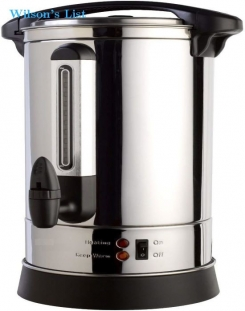 ProChef PU100 Professional Series Stainless Steel 100 Cup Insulated Hot Water Urn
