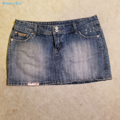Short Jeans Skirt - Size S - Excelent Condition