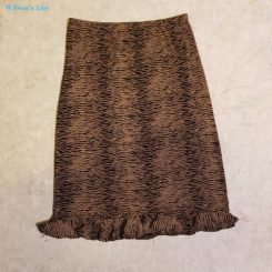 Susan Lawrence - Long Skirt -  Size L