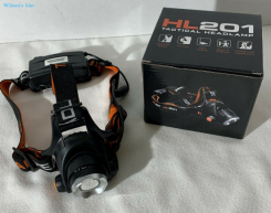 HL201 Tactical Headlamp With Real CREE XM-L2 LED
