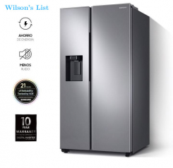 samsung Side by Side 27 cu.ft with ice and water dispenserRS27T5200S9 / EM