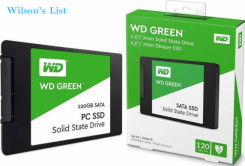 Western Digital 120GB Solid State Hard Drive