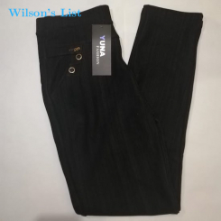 Yuna Fashion Women's legging pants (L/XL) BLACK