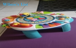 WinFun's Letter Train and Activity Piano Table.